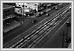 15 août 1930. Avenue Portage regardant est de la rue Furby montrant des réparations aux pistes de streetcar N2707 02-019Lewis B. Foote Archives of Manitoba