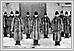 Winter Uniforms in front of the Central Police Station 1924 05-194 Souvenirs of Winnipeg's Jubilee 1874-1924 RBR FC 3396.3.S68 UofM Special Archives