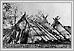 Tentes d'écorce de Burch cote ouest du fleuve rouge règlement moyen septembre 1858 N12554 06-113 Humphrey Lloyd Hime Archives of Manitoba