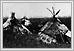 Tentes sur la prairie près du fleuve rouge septembre 1858 N12555 06-114 Humphrey Lloyd Hime Archives of Manitoba