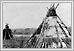 Tentes d'Ojibway sur les cote du fleuve rouge règlement moyen septembre 1858 N12556 06-115 Humphrey Lloyd Hime Archives of Manitoba