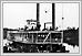 Le bateau 'Dakota' sur la fleuve rouge, au fort Dufferin 1873 08-013 Boundary Commission Archives of Manitoba