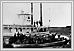 Le bateau 'Selkirk' sur la fleuve rouge, vue du sterne 1873 08-015 Boundary Commission Archives of Manitoba